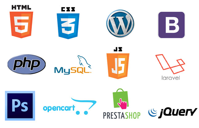 wordpress php html css development tools