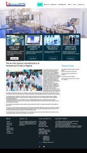 Biomedical limited website development